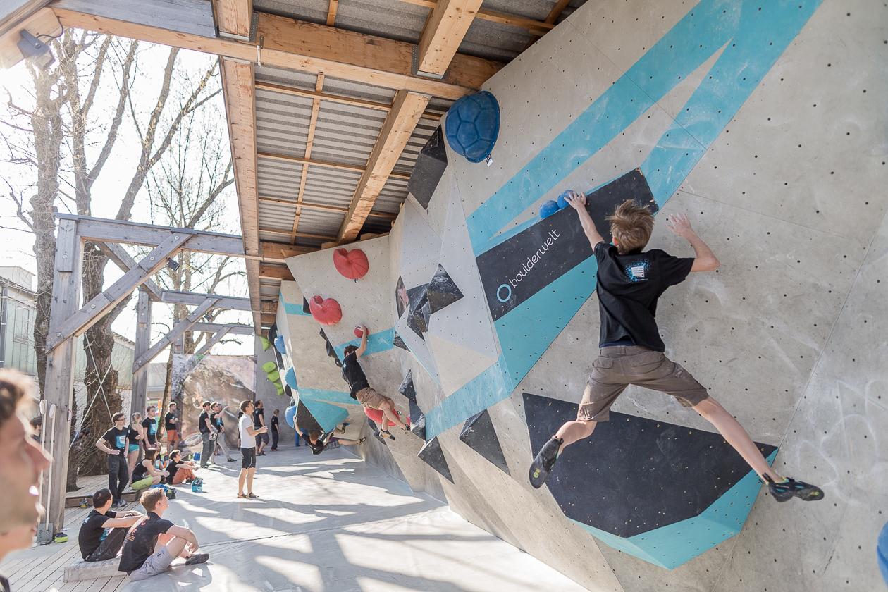 Klettergurt Leihen München : Boulderwelt münchen ost u klettern in absprunghöhe am münchner