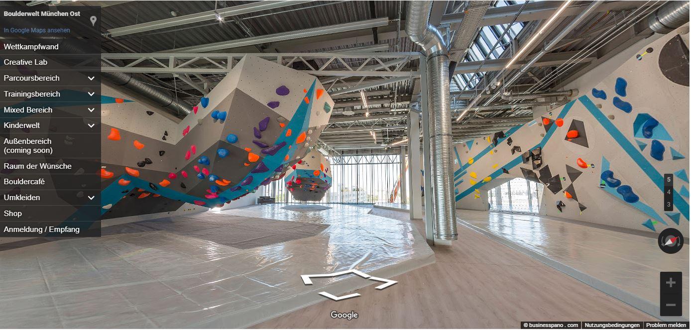 Bouldern in der größten Boulderhalle Münchens — Klettern