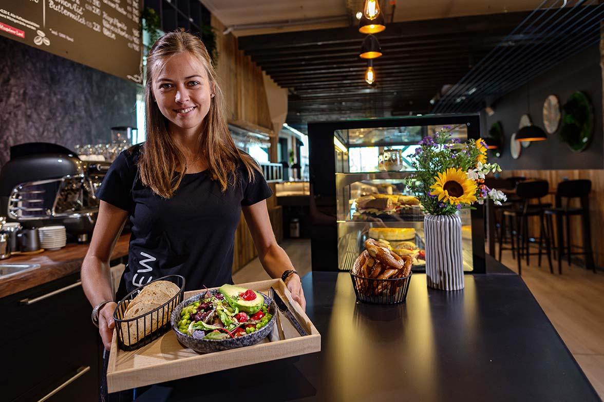 Unser neues Boulder Café in der Boulderwelt München Ost