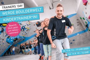 Trainers´Day - Werde Boulderwelt Kindertrainer*in