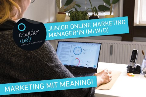 Die Boulderwelt sucht Junior Online Marketing Manager für München